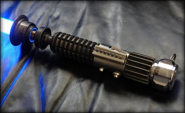 Meticulously machined lightsaber replica...