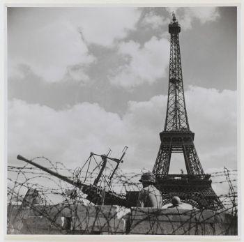 """Exposition """"Paris libéré, photographié, exposé"""" au musée Carnavalet  Photographie de Jean Séeberger"""