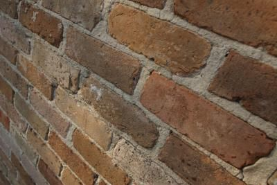 How to paint a backsplash that looks like tiles how to paint brick paneling and faux brick panels - Backsplash that looks like brick ...