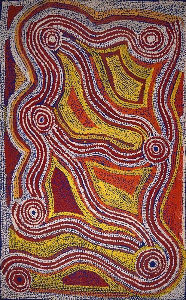 Les 25 meilleures id es de la cat gorie art aborig ne sur - Peinture effet serpent ...