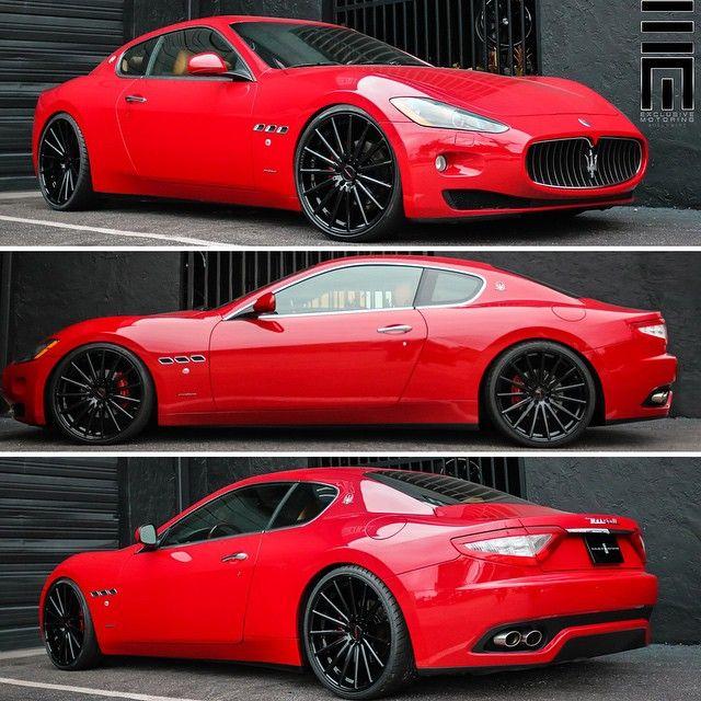 """Maserati GranTurismo customized by @ExclusiveMotoring #ExclusiveMotoring #Miami"""