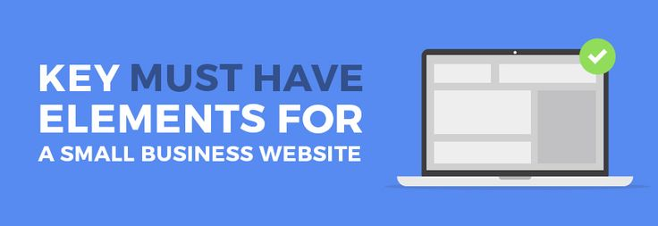 How to create a simple website for a small company? Remember about must-have key elements to include! #website #company #tips