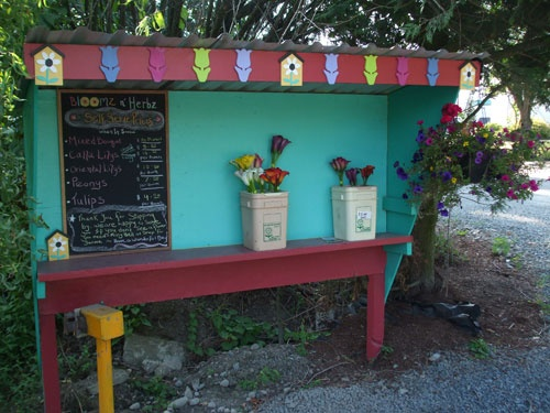 how to build a roadside stand