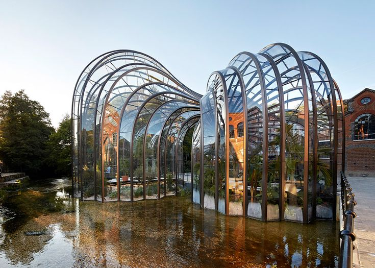 Thomas Heatherwick's Bombay Sapphire distillery photographed by Hufton + Crow.