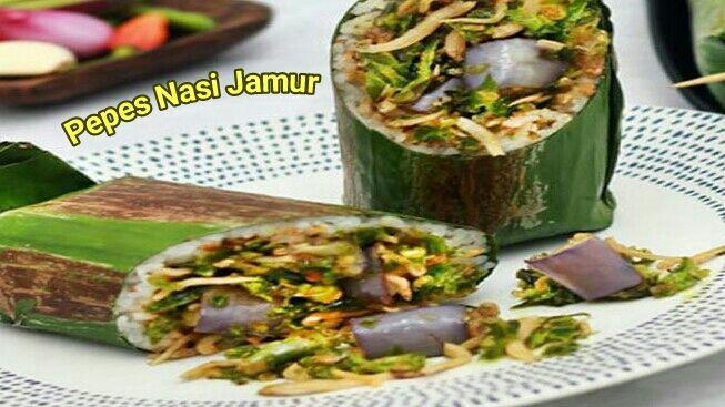 Resep Pepes Nasi Jamur Jamur Resep Masakan Makanan