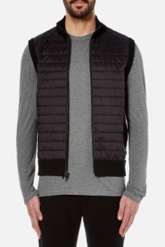 Michael Kors Men's Padded Front Vest - Black - L #modasto #giyim #erkek https://modasto.com/michael-ve-kors/erkek/br1050ct59