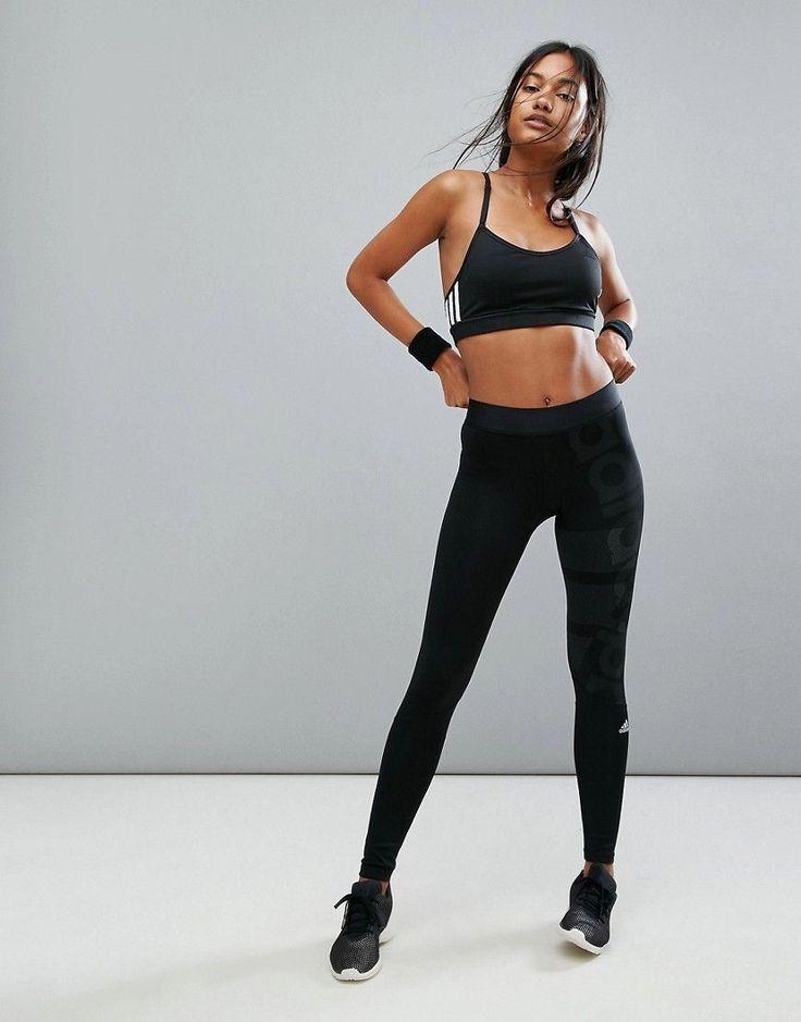 adidas Training Tight In Black - Black