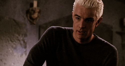 Buffy the Vampire Slayer - Spike Smile GIF