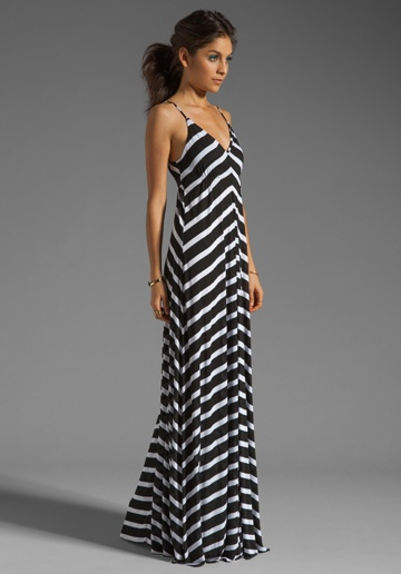 Eight Sixty Stripe Maxi Dress - Fn Dress