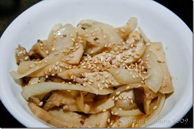 Korean Side Dish | Mushroom Moochim - (버섯 볶음)