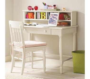 Kids' Desks & Chairs: Kids White Jenny Lind Desk