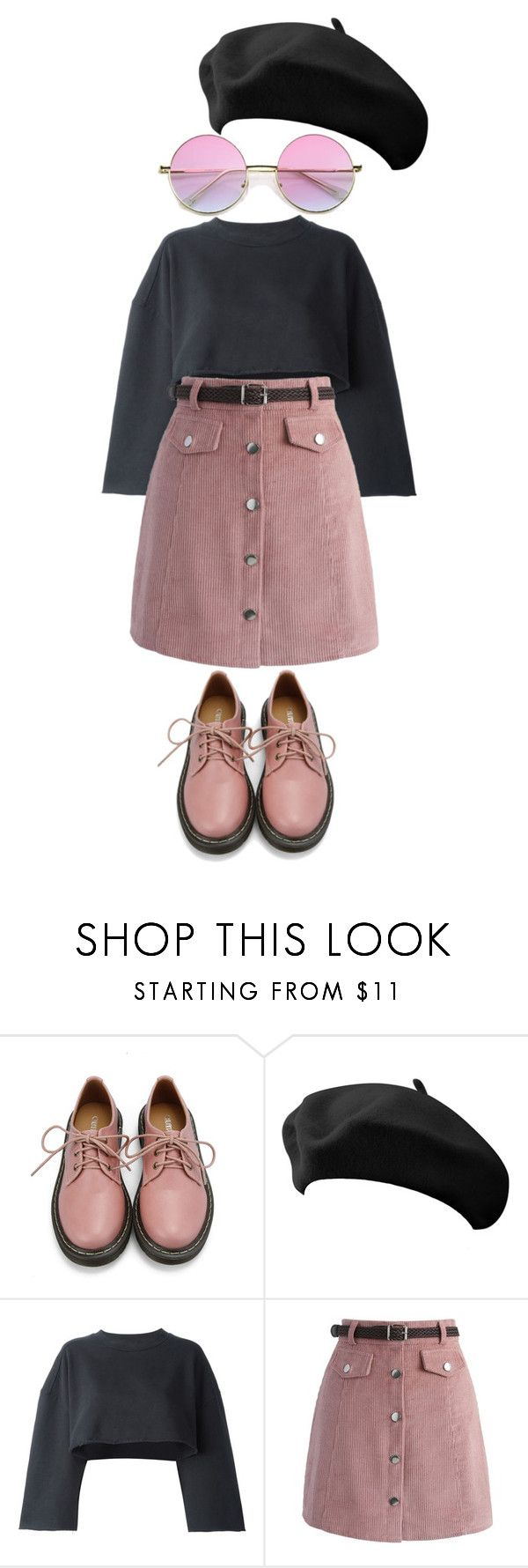 """""""Blahhh"""" by magali03garcia on Polyvore featuring Retrò, adidas Originals and Chicwish"""