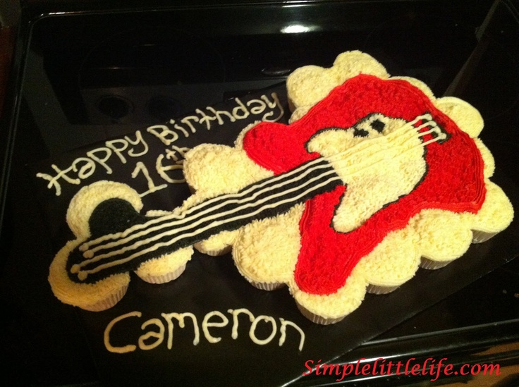 Images Guitar Cakes