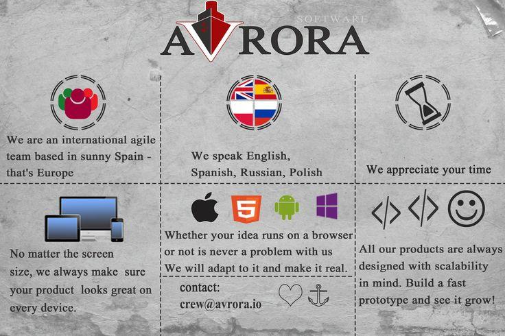 We speak four languages, write software for four platforms and target mobile, desktop and tablets