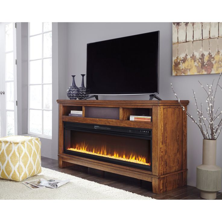 25 Best Ideas About Electric Fireplace Tv Stand On Pinterest Faux Fireplace Faux Mantle And