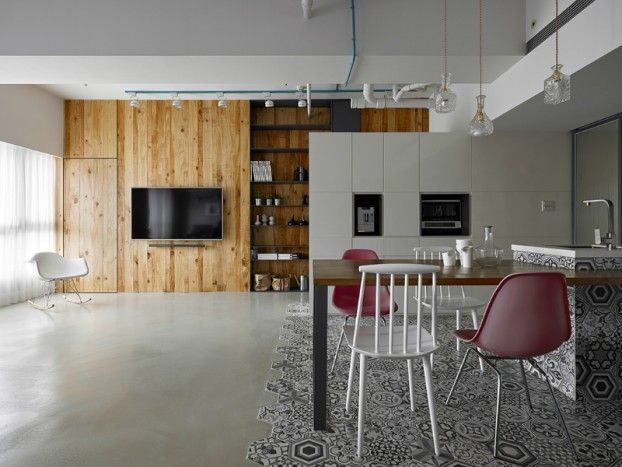 Masculine Apartment With Outstanding Design