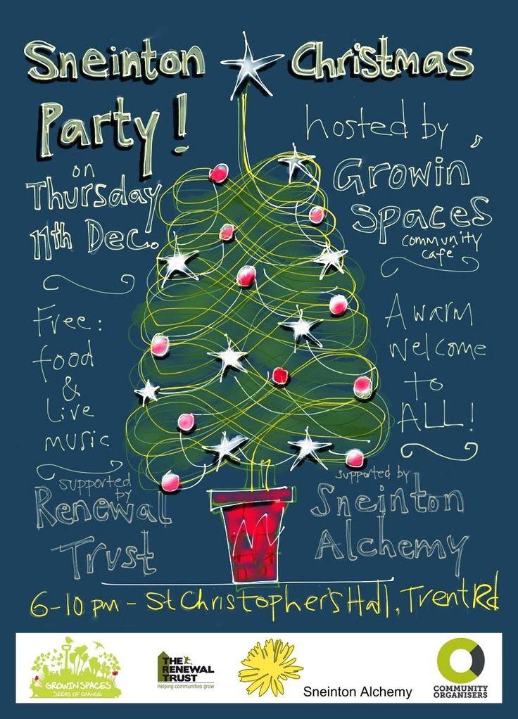 Sneinton Christmas Party! - Sneinton Alchemy