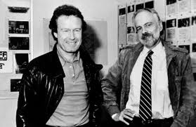 Riddley Scoot & Philip K. Dick working on Blade runner. I have read every single novel, short story or interview by PKD. I consider him as the most influent SF writer to Cinema.