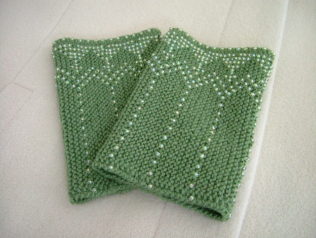 Knitting With Beads Instructions : Images about beaded knitting perlenstrickerei on