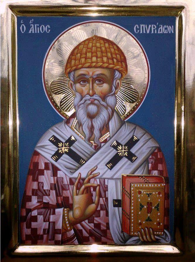 Дођи и види: Свети Спиридон Тримитунтски Чудотворац - Тропар