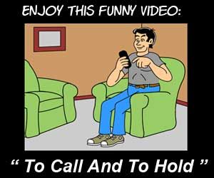 Funny cartoon video about a man being kept on hold by a voicemail system. Share  animated cartoons on your websites or social media for free. No need to register, just copy and paste the code beneath cartoons you choose. http://videos.colemantoons.com/videos4.html