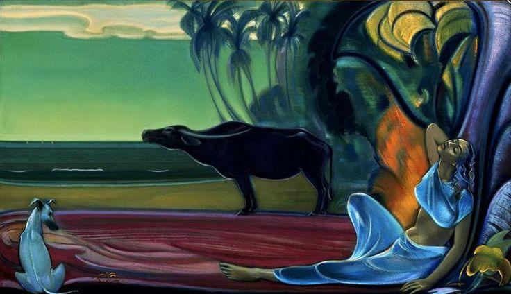 Святослав Рерих. Духовное искусство. Молчание. 1964 Svetoslav Roerich