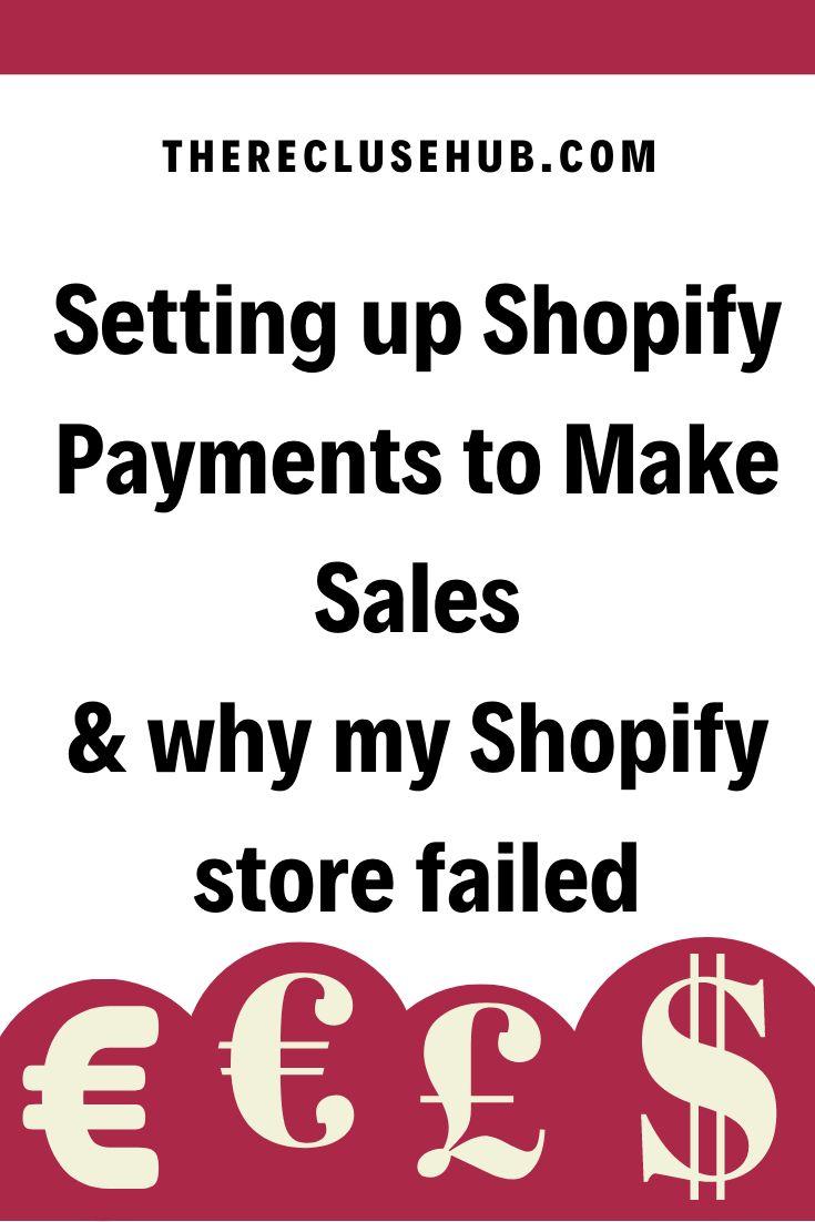 Failed on shopify