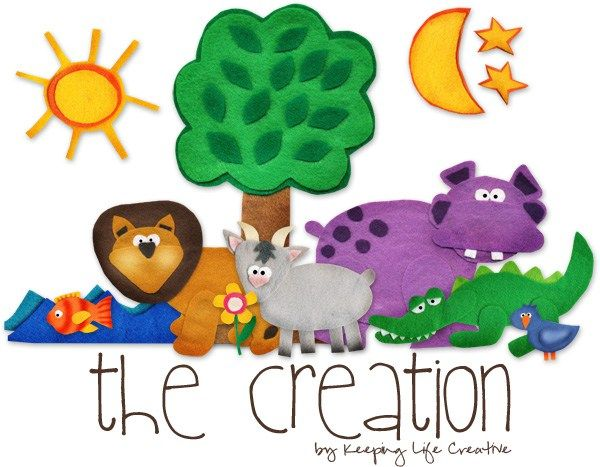 The Creation Story Interactive Printables - In case anyone else is making their own flannel board, I ran across this site you may have already found that has a few of the stories ready to print for felt. Do have to subscribe to her email list, but then you get to the printables. Has the creation story, Adam and Eve, Jonah and the Whale, Moses, and Joseph on there for free. Just thought I'd share!