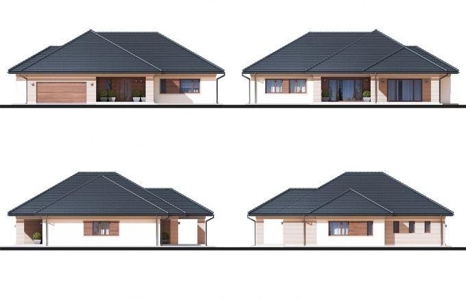 Projekt domu Goliat III NF40, wizualizacja 3