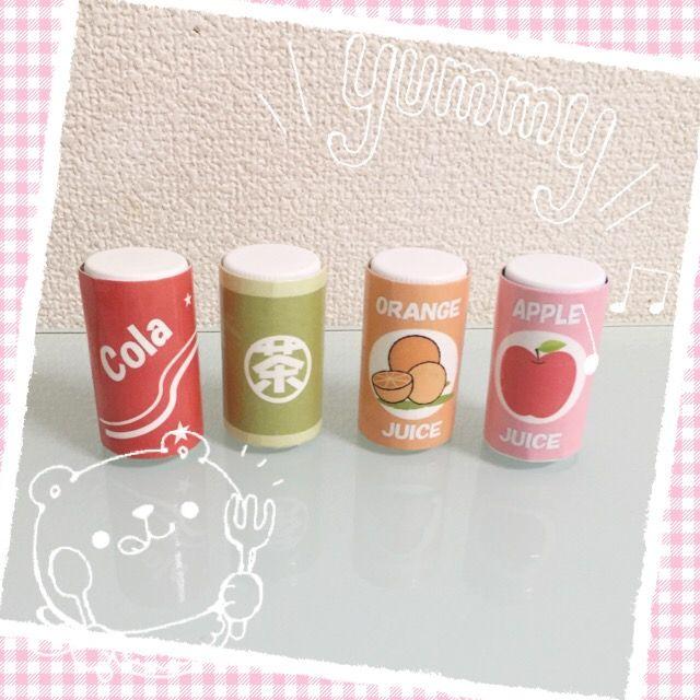おもちゃの缶ジュースの作り方。サンケイリビング新聞社がお届けする、ママに役立つ子育て情報サイト「あんふぁんWeb」