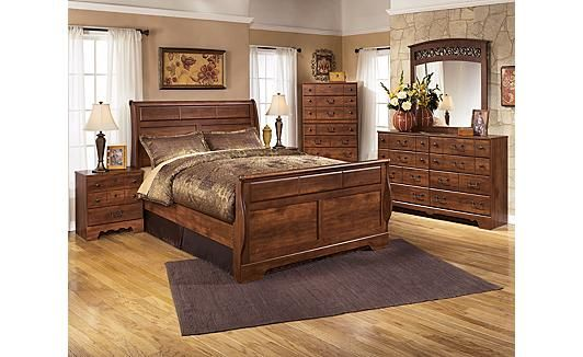 Timberline Sleigh Bedroom Set Maybe New Bedroom Set When We Get A House Home Decor