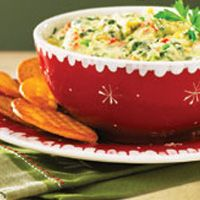 Holiday Artichoke Spinach Dip #HEBHolidayMeal