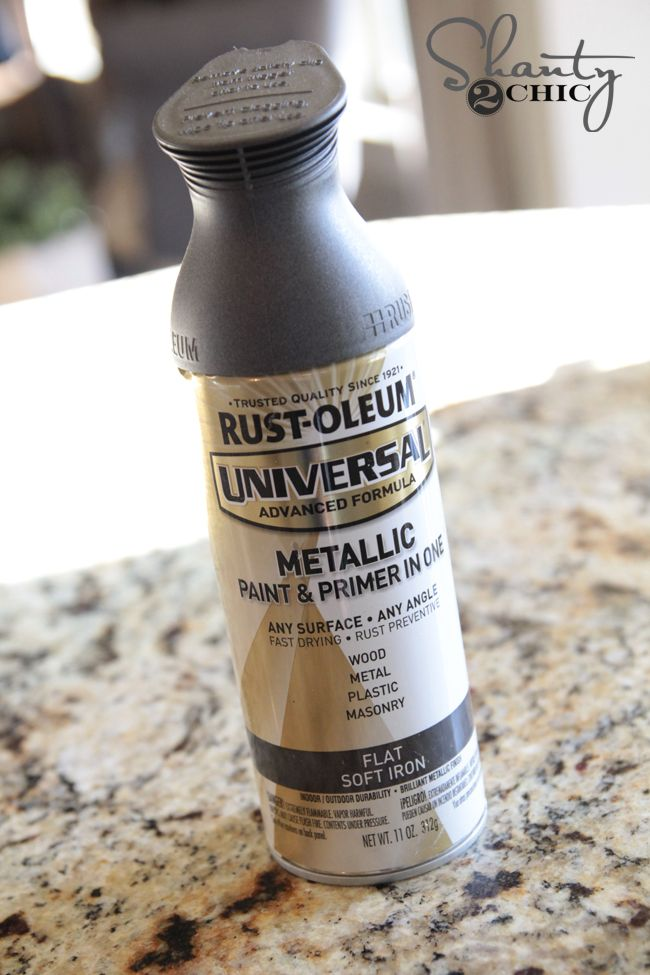 25 best ideas about spray paint metal on pinterest spray painting metal rustoleum spray Metallic spray paint colors