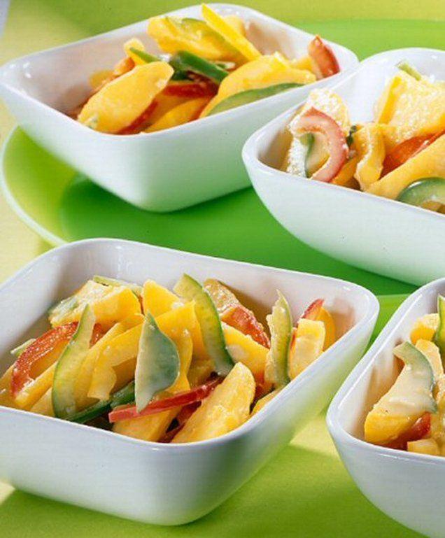 Kartoffelspalten-Salat Rezept | Dr. Oetker