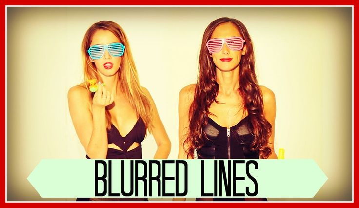 BLURRED LINES - Robin Thicke ft. King Bach, Taryn Southern, Julia Price ...