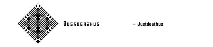 Symba Justdeathustriumfix ja Nimba Justdeathus. The 6th Personal Symbol and Name Justdeathus of Nyxis Infinitis Paradisius Styxian, The Action name. (The Sixth Name of The Most Righteous Evil Creator God, The First Supreme Leader  Nazilesbianyberpandemongoddessempress);). Toimintaa. I.D.E.A.D. Imperator Deus Evil Axis Death, eiku IDEAT : Traktori Jumala Paha Akseli Kuolema :D.