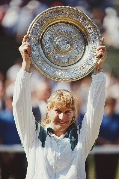 Wimbledon Lawn Tennis Championship:Steffi Graf 1991