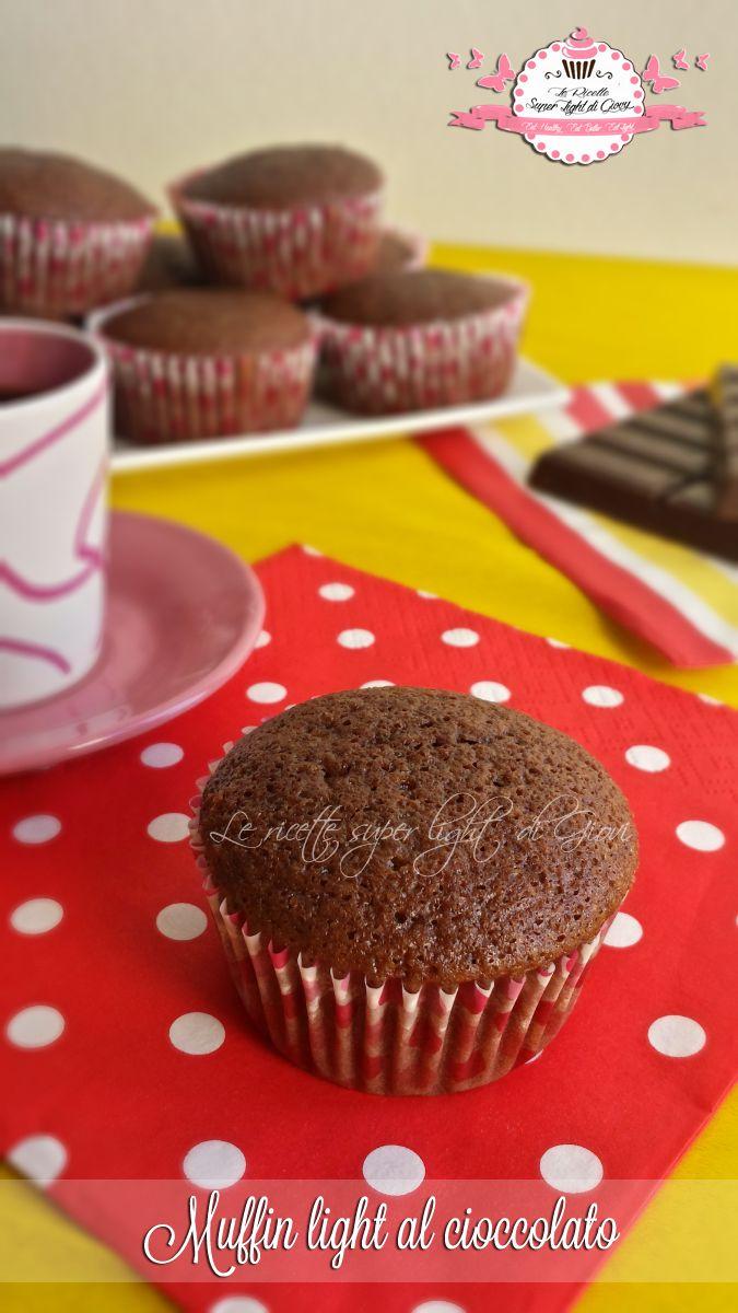 Muffin light al cioccolato – senza uova, senza olio e senza latte (68 calorie l'uno)   Le Ricette Super Light Di Giovi