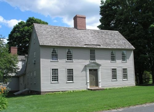 43 best saltbox houses images on pinterest saltbox for Saltbox house additions
