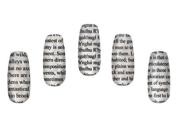 Literary Nail Wraps