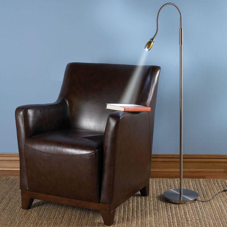 Zooming Natural Light Floor Lamp