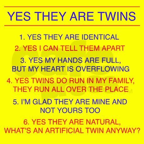 how to know if you are have twins