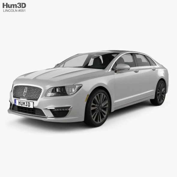 Lincoln Mkz Reserve 2017 Fully Editable And Reusable 3d Model Of A Car 3d 3dmodel 3ddesign 2013 2020 4 Door American Lincoln Mkz 3d Model Car 3d Model