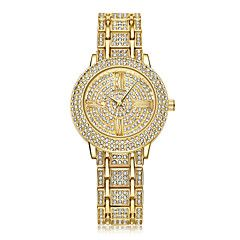 Damen+Kinder+Sportuhr+Kleideruhr+Modeuhr+Armbanduhr+Einzigartige+kreative+Uhr+Armbanduhren+für+den+Alltag+Simulierter+Diamant+Uhr+Pavé-Uhr+–+EUR+€+19.12