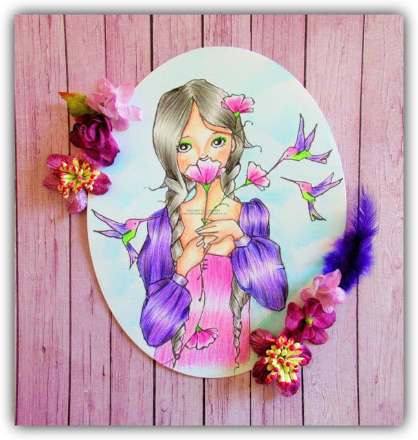 Dream Laine: Fairytale Feeling!    #fabercastellpolychromos #fabercastell #pencil  #coloringforadults #coloringpages #colouringbook #colouring