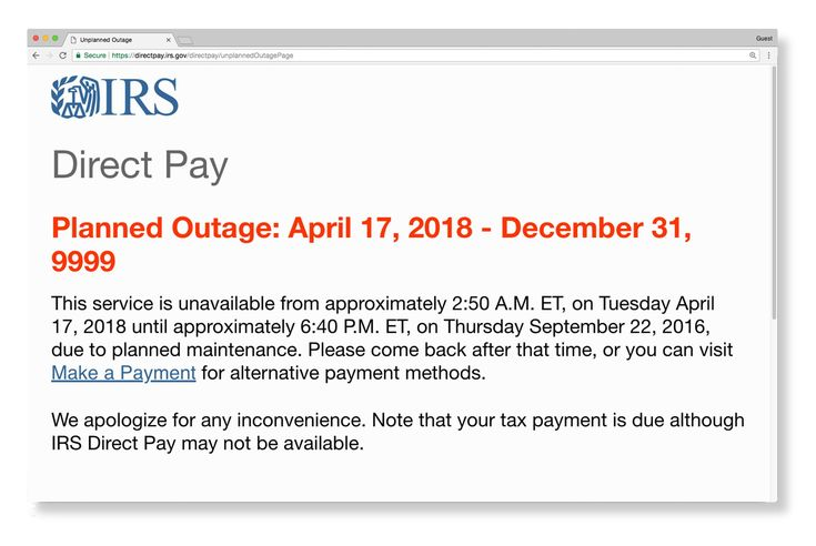 I.R.S. Website Crashes on Tax Day as Millions Tried to File Returns