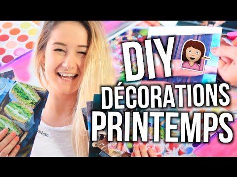 DIY DÉCORATIONS DE PRINTEMPS! | Emma Verde - YouTube