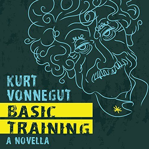 """Another must-listen from my #AudibleApp: """"Basic Training"""" by Kurt Vonnegut, narrated by Colin Hanks."""