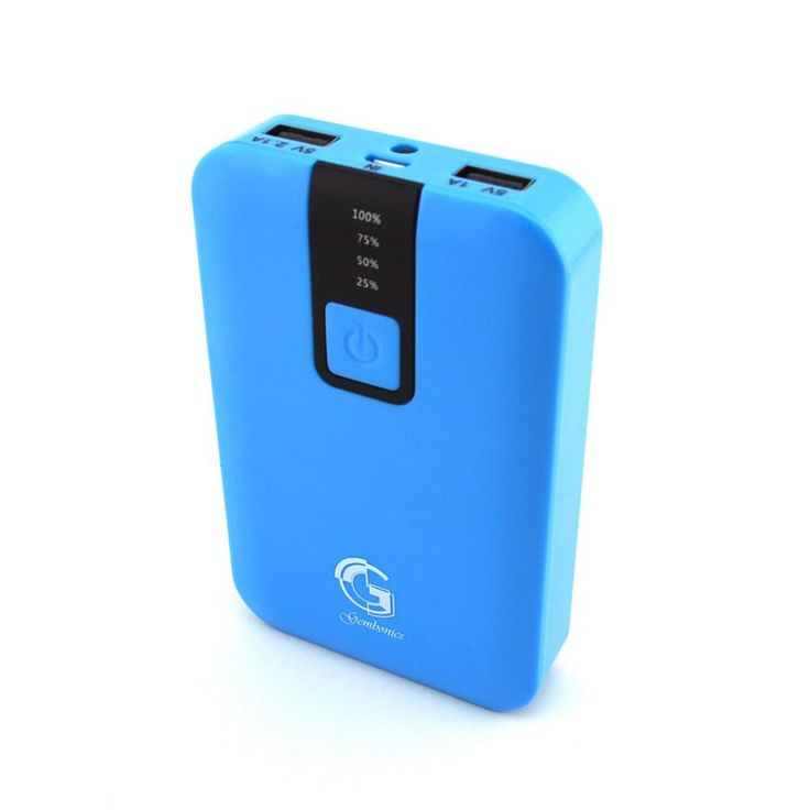Gembonics12000mAh High Capacity Portable USB External Battery Charger Pack for USB Charged Devices