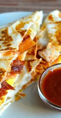 Taco bell breakfast crunch wrap - Want to prepare it yourself? click the image!